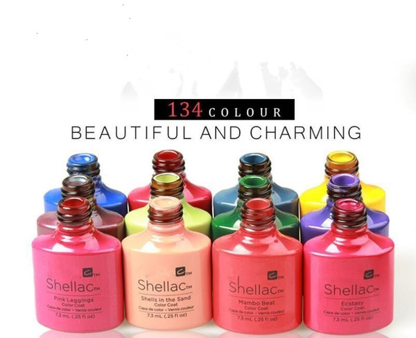 best selling Hot wholesale c rose plant glue nail polish Ting 134 color nail polish glue imported brands Manicure