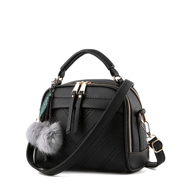 Women shoulder bag messenger crossbody bags for female ladies fashion handbags with tassel high quality PU leather
