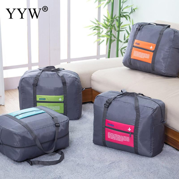 Men WaterProof Travel Bag For Suit Nylon Large Capacity Women Bag Foldable Cubes Organizer Set Travel Bags Hand Luggage Packing