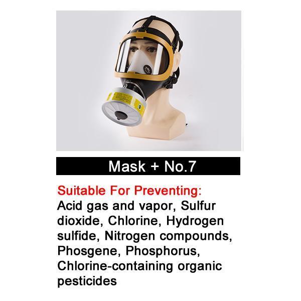 Masque avec No.7
