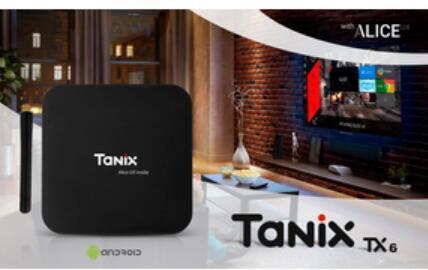 Tanix TX6 TV Box Android 9.0 4GB 32GB DDR3 Allwinner H6 EMMC 2.4G5G WiFi Bluetooth 4.2 TV Box Android 20pcs DHL