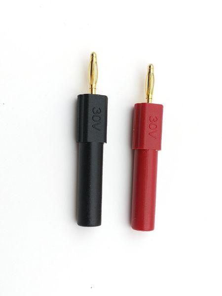 copper 4mm Banana Jack Female to 2mm Banana male Plug Probes 30V