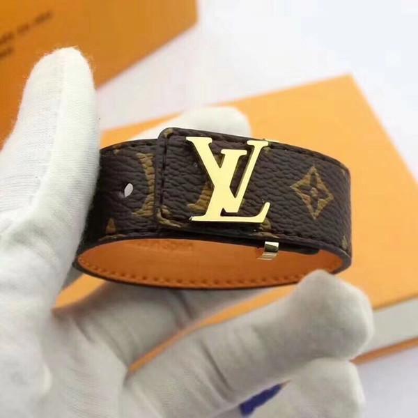 4 estilos de Ouro V Pulseira de Couro V Forma Charme Pulseira Bangles Cuffs Moda Jóias para Mulheres Christams Presente Transporte da gota