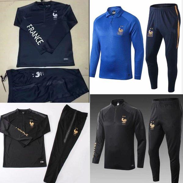 Frances 100th yıldönümü GRIEZMANN Futbol Forması ceket dünya kupası MBAPPE uzakta Fransız gömlek POGBA KANTE Futbol Francia eğitim elbiseleri