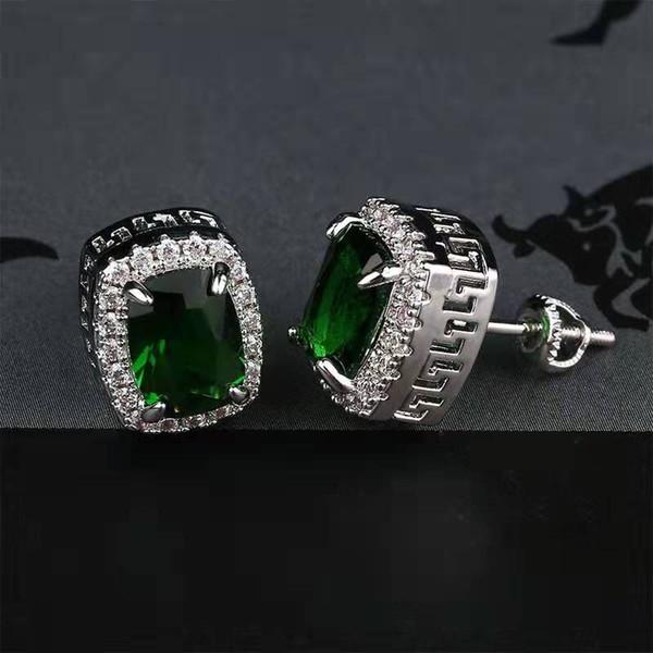 серебряный зеленый