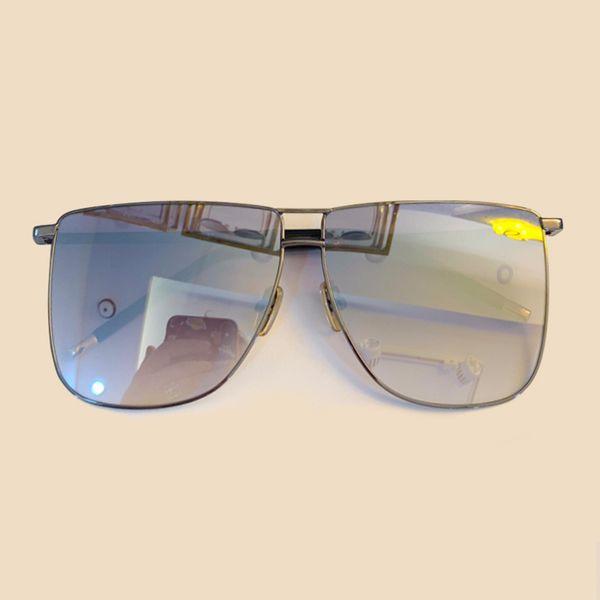 Fashion Square Sunglasses Man Sunglasses 2019 New Retor Light Alloy Frame Gradient Sun Glasses Female Lady Shades UV400 Goggle Eyeglasses