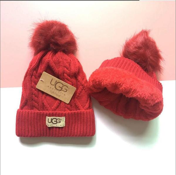 Hot Unisex Autunno Inverno Beanie cappello degli uomini di marca cappelli casuali classici tappi cranio sci hip hop donne Bonnet berretti all'ingrosso 772