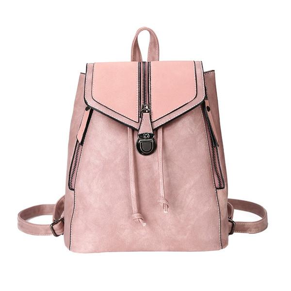 Women Small Backpack PU Leather Backpack Cute School Bags for Girls Fashion Shoulder Bag Female Backpack Mochila Masculina