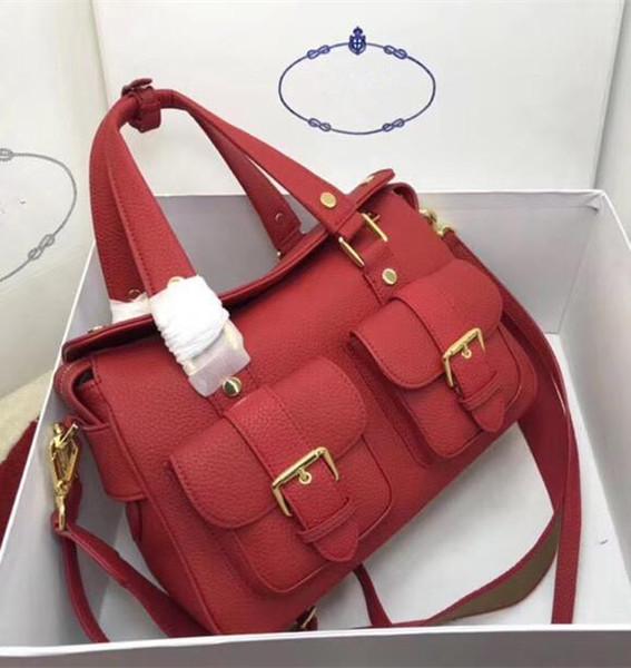 2019 Nouvelle arrivée sacs Lady Totes femmes Mode cuir véritable peau de vache dame sac à main gros usine Livraison gratuite 31cm Sacs d'épaule
