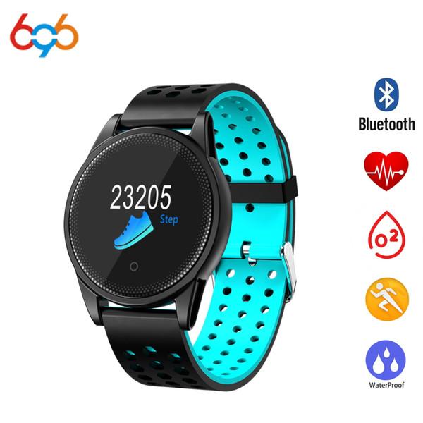 696 M10 Smartwatch Мужчины Монитор Артериального Давления Артериального Давления Спорт Активность Фитнес-Трекер Смарт-Часы IP67 Водонепроницаемый