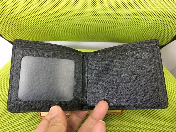 Mit Box Mens Wallet 2018 Neue Herren Leder Mit Brieftaschen Für Männer Geldbörse Brieftasche Männer Kurze Brieftasche