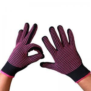 Heat Resistant BBQ Gloves Kitchen Non-Slip PVC Dot Oven Mitts Cooking Baking Grilling Barbecue Glove OOA6346