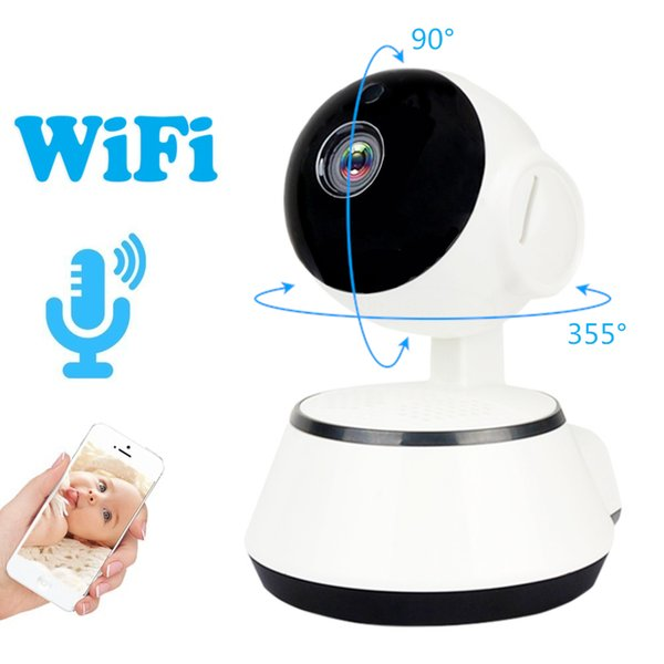 WiFi Mini IP Camera 720P HD Wireless Security Surveillance Cam Audio Record Baby Monitor CCTV Camera Support SD Card ICSEE baby camera 100pc
