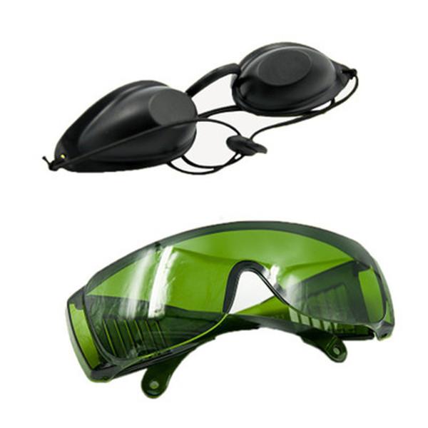 OPT SHR Elight IPL Photon Beleza Instrumento de Segurança Óculos de Proteção Yag Laser Tatuagem Olho Óculos de Proteção Do Paciente Ocular Amplo Absorção