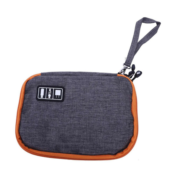 Waterproof 2 Layer Usb Cable Storage Bag Electronic Organizer Digital Gadget Case Travel Cellphone Charge Mobile Charger Holde