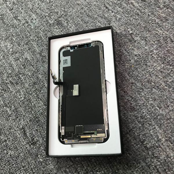 GX Hard Amoled Запасная часть LCD для iPhone X - ЖК-дисплей с сенсорным экраном Digitizer Полная замена сборки