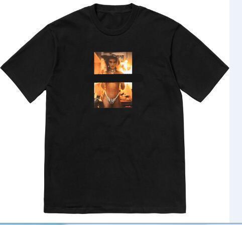 2019 nueva marca camisa ropa de diseñador camiseta con cuello redondo camiseta para hombre homme fashion box LOGO camiseta hombres fitness crossfit verano top tee