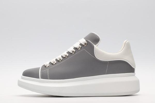 2019 zapatos de diseñador Run way Luxury bordado huir zapatos cuero genuino diseñador zapatilla de deporte para mujer de los hombres zapatos casuales ydyl19030811