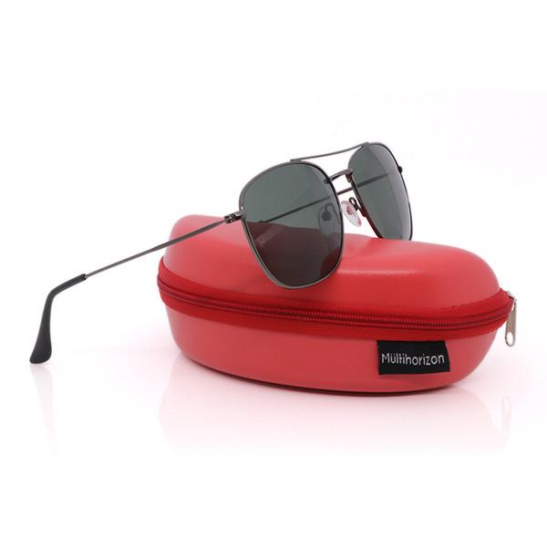 Multi color Clásico Retro Moda Hombres Vintage Diseñador Gafas de sol UV400 Protección para hombre gafas de sol polarizadas UV