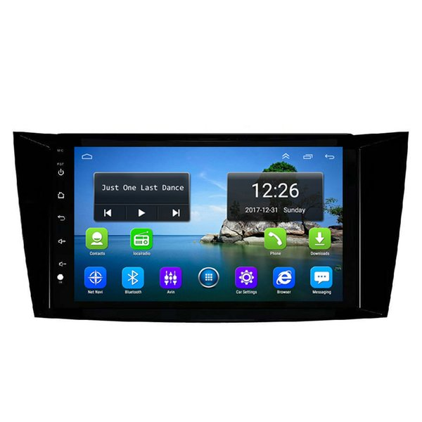 Android HD 1080P car MP3 MP4 Music Resolution HD display Resolution 1024 * 600 USB for Mercedes Benz W211 9inch