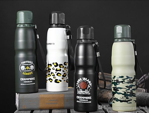 304 stainless steel vacuum flask vacuum sports pot inside travel bottle portable insulation pot factory direct sales