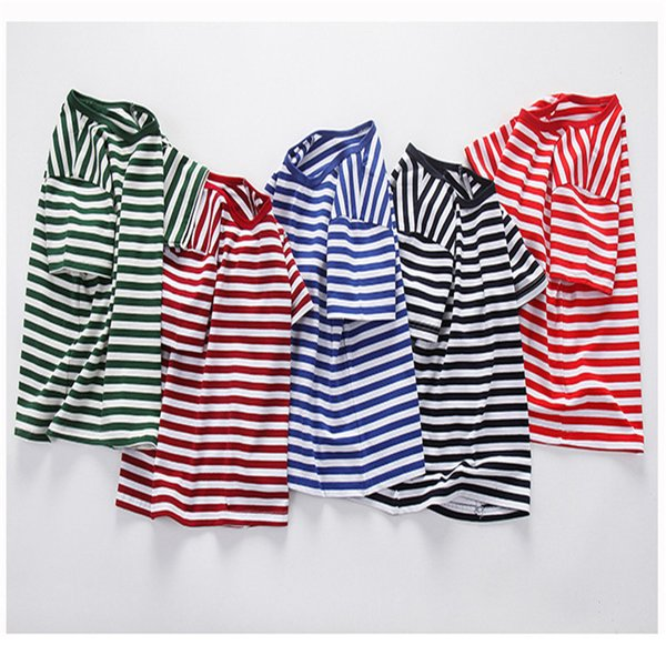 good quality 2019 new baby boys tees clothing children summer striped casual t-shirt kids boys cotton short sleeve tops clothes