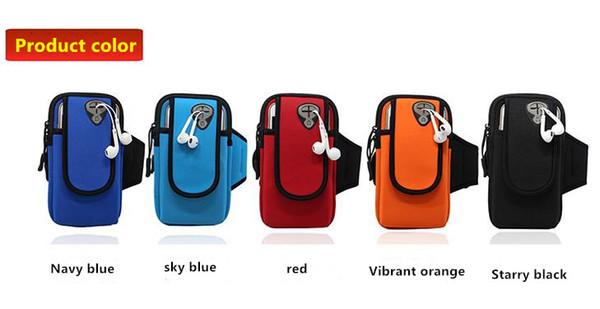 Cep telefonu çantası su geçirmez büyük ekran kol bandı çalışan Yeni çevre dalış malzemesi açık hava spor kol çantası çok fonksiyonlu