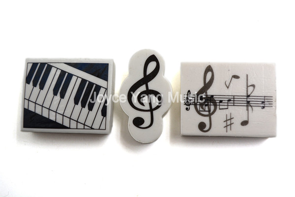 top popular Niko Music Book Note Paper Pencil Rubber Eraser Music For Treble Clef Staff Musician Song Writer Artist 2021