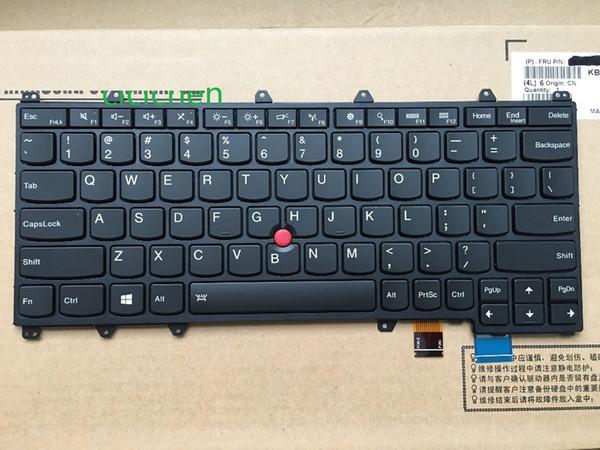 NUEVO teclado inglés para laptop para Lenovo Thinkpad YOGA 260 EE. UU. Estados Unidos con retroiluminación