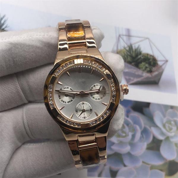 2019 высокое качество MK Luxury Rinestones женщин смотреть алмаз моды платье леди часы известный бренд оптовой Кристалл женский Free shipping8
