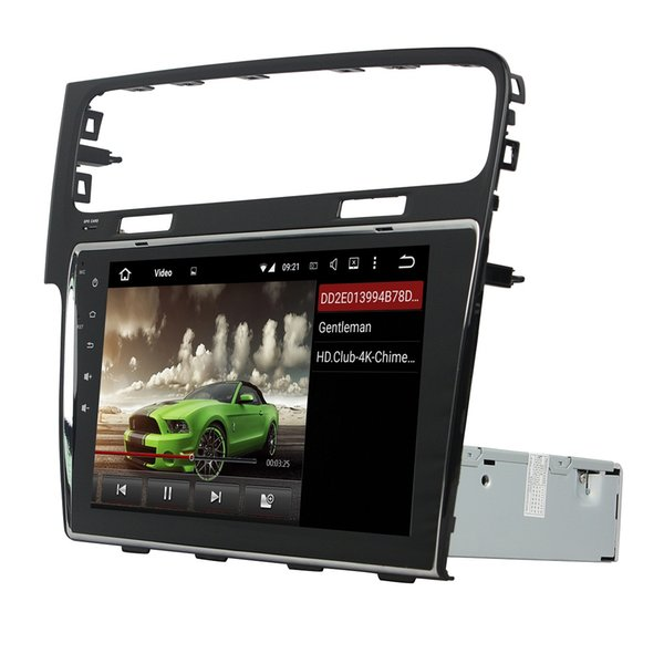 """Android 8.0 Octa Core 10.1"""" Car DVD Radio GPS for VW Volkswagen Golf 7 2013 2014 2015 With 4GB RAM Bluetooth WIFI USB DVR 32GB ROM"""