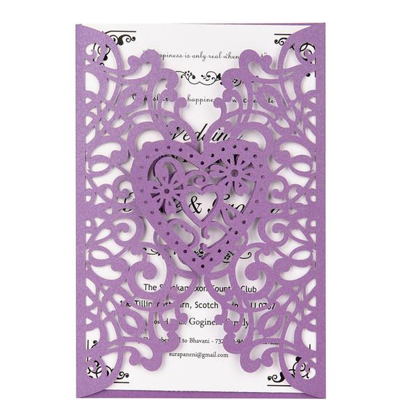 20шт жемчужная бумага лазерная резка свадебные приглашения пригласительные конверты комплекты событий праздничные атрибуты с пустым внутренним листом