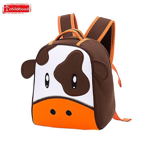 Kindergarten Bag 2019 Cartoon Backpack 2-5 Year Children Both Shoulders A Bag