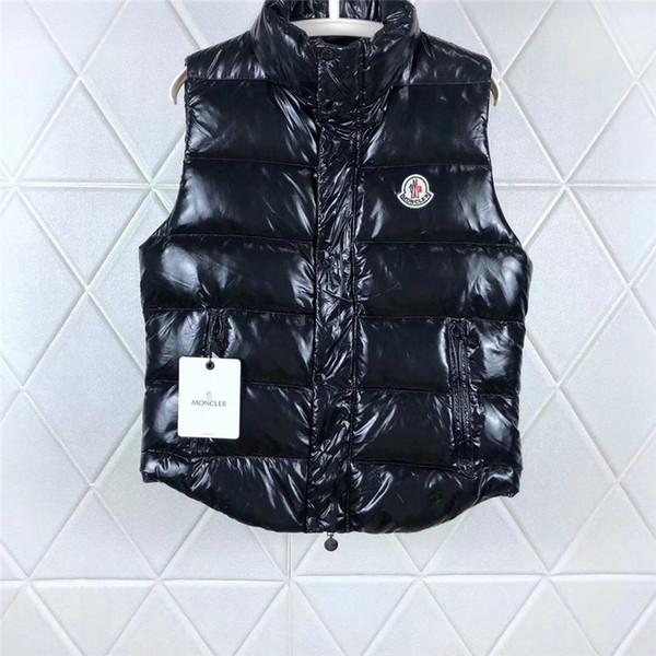 top popular Wen Designer Jacket Vests Down Coat Hooded Luminous Waterproof For Men And Women Brand Windbreaker Luxury Hoodie Jacket Thick 2019