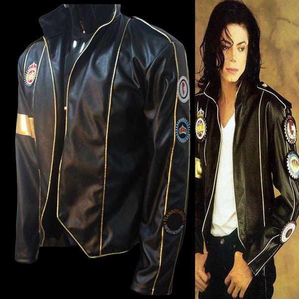 MJ Michael Jackson show punk jacket clothes men jacket men jaquetas masculina kaban erkek casaca hombre marine corps