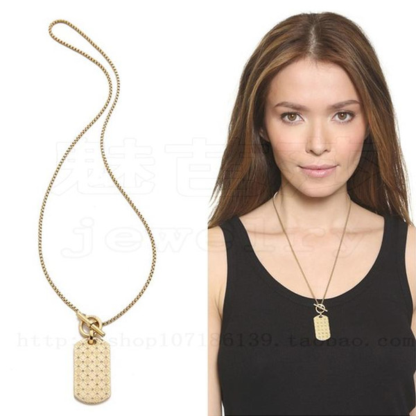 3 Colors Designer Heart Shape Letter Rhinestone Necklace Gold, Silver, Rose Gold Color Chain high quality for Women Lady Girl Lady Jewelry