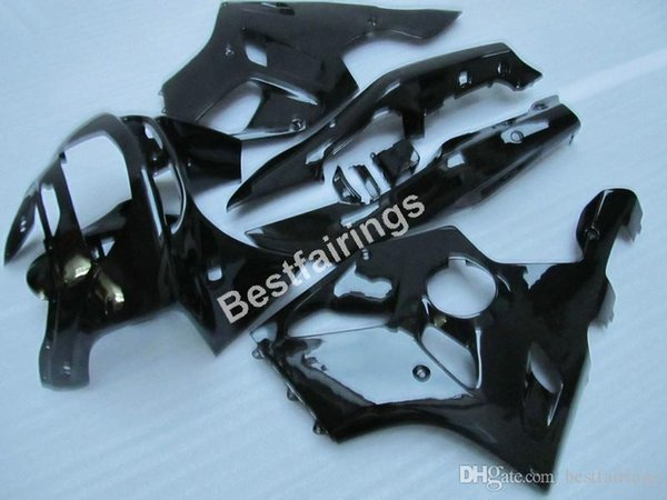 Motorcycle fairing kit for Kawasaki Ninja ZX6R 1994 1995 1996 1997 glossy black fairings set ZX6R 94 95 96 97 MT27