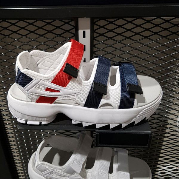 new arrivel Original men women Summer Sandals black white red Anti-slipping Quick-drying Outdoor slippers Soft Water Shoe size 36-4