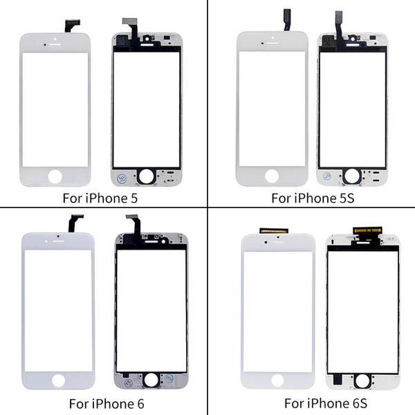 Touch Panel For iPhone 6 5 5s 5c Touch Screen Digitizer Glass Lens Sensor Replacement Parts for Iphone TouchScreen