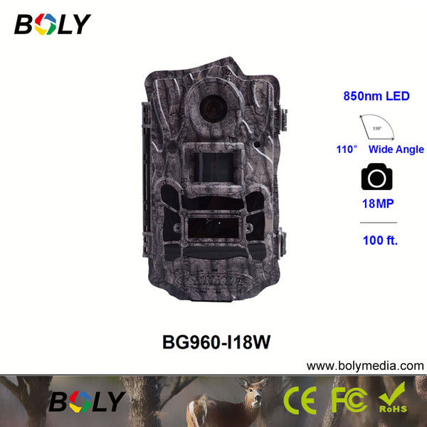 0.7s trigger time 850nm p trap trail cameras for wildlife hunting cameras 110 degree wide angle 18mp original game thumbnail
