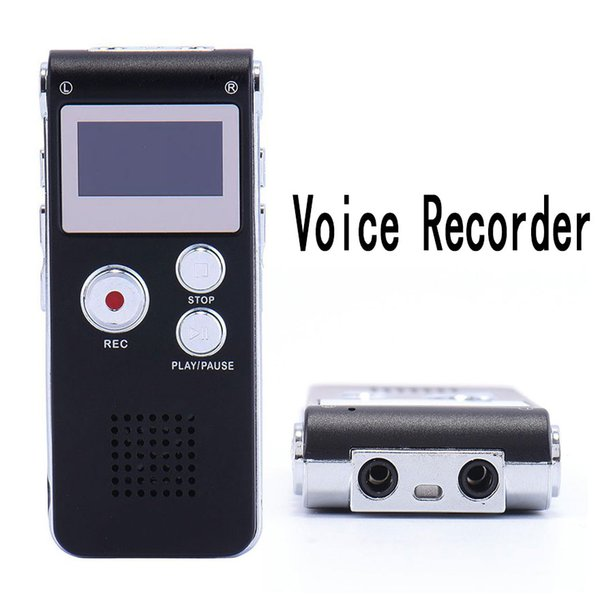 Portable USB Pen Voice Recorder 8/16GB Flash Audio Voice Recorder 3D Stereo MP3 Player Support 650Hr Dictaphone Sound Recording