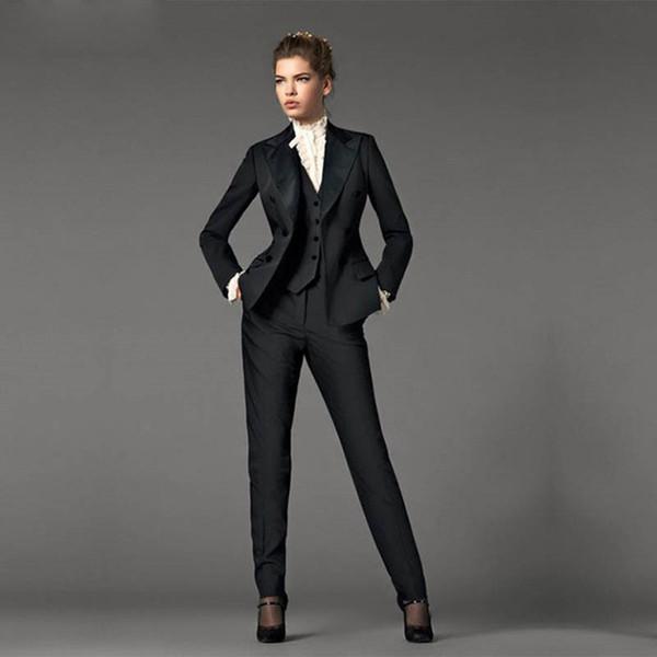 01739088b8b9 Compre Ropa Formal Personalizada Para Damas, Trajes Para Damas, Traje  Delgado De Temperamento, Traje De Dos Piezas Chaqueta + Pantalones, Ropa  Formal ...