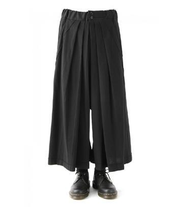 27-44 2020 New Men clothing fashion ultra-loose Wide-legged culottes pants creases Leisure trousers hairstylist plus size