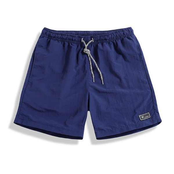 Casual Beach Shorts Summer Man Middle-waisted Quick Drying Shorts Hot Shorts Running Pants