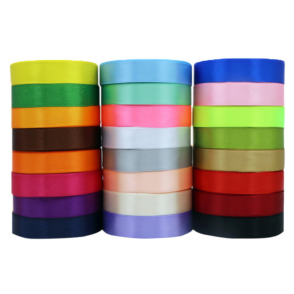 best selling Color gift wrap bow rope 2 cm wide 22 m long colored ribbon ribbon bow ribbon wedding gift box packaging rope