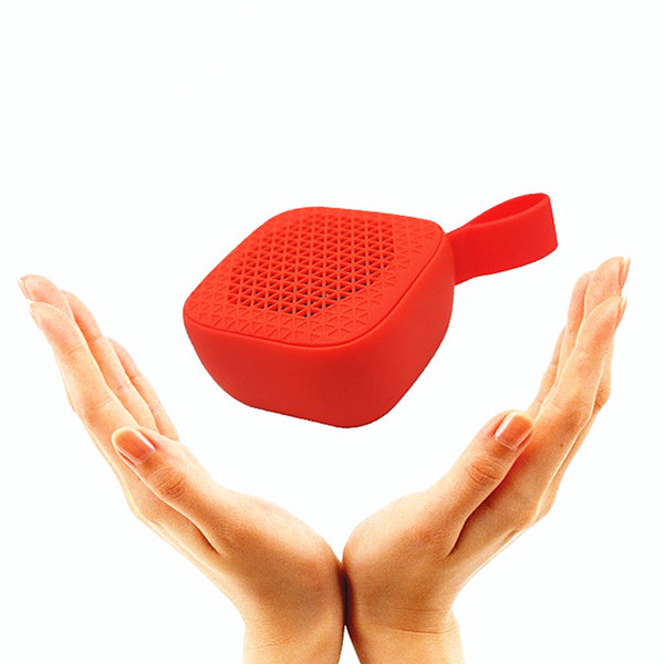 Altavoz Bluetooth Inalámbrico Mini Portátil Al Aire Libre Pequeño Estéreo Anti-gota Manos Libres de Silicona Bluetooth Altavoz Micrófono incorporado Altavoz incorporado