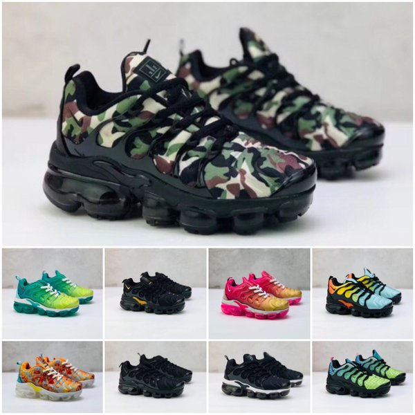 Nike Air TN Plus BoysGirls Scarpe casual Spazio TN classici per bambini correnti di sport per bambini scarpe da ginnastica regali di alta qualità: 28-35