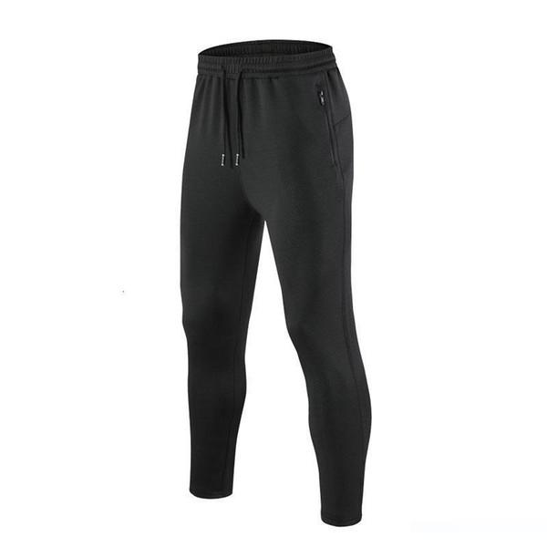 Avrupa Kod Hareket Serbest Zaman Sonbahar Örme Pantolon 260g Polyester Amonyak Siyah İpek Sağlıklı Kumaş% 90 Polyester% 10 Spandex