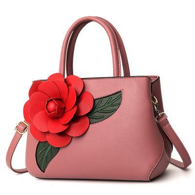 Women's bag sale Europe and America casual big bag fashion wild handbag tide rose shoulder Messenger bag