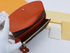 lettre brune + orange